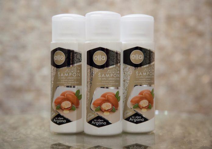 Šampon s arganovim uljem Ella