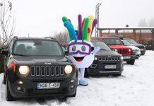 Jeep konvoj EYOF