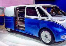Volkswagen električno dostavno vozilo