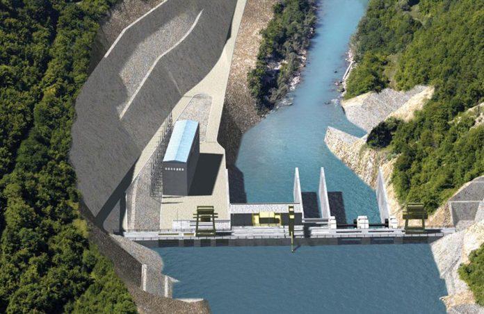 Hidroelektrana Buk Bijela