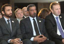 Mohammed Ibrahim Al-Shaibani, Ahmed bin Saeed Al Maktoum i Amer Bukvić